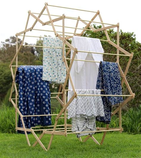 Clothes Drying Rack Plans Free by Diy Shaped Clothes Drying Rack A Of Rainbow