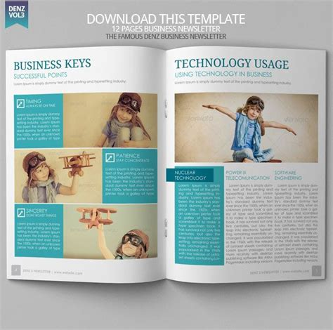 15 Best Images About Newsletter Design Templates On Pinterest See Best Ideas About Newsletter Contemporary Newsletter Template