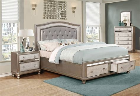Bling Bedroom Set by Coaster Furniture Bling 2pc Bedroom Set With Cal King