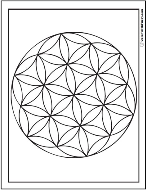 geometric circle coloring pages coloring pages have fun coloring this geometric coloring