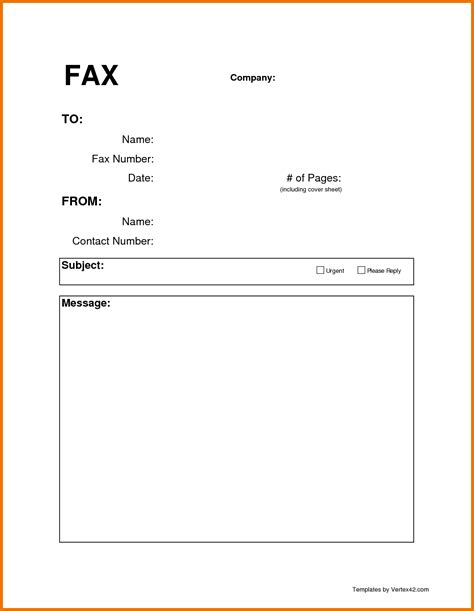 page template word 8 fax cover sheet in word itinerary template sle