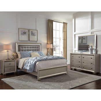 5 piece bedroom set queen alexis 5 piece queen bedroom set