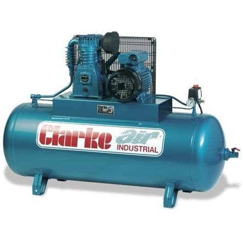 clarke 200 litre 4hp 1 phase air compressor clase19c200nd xet19 200