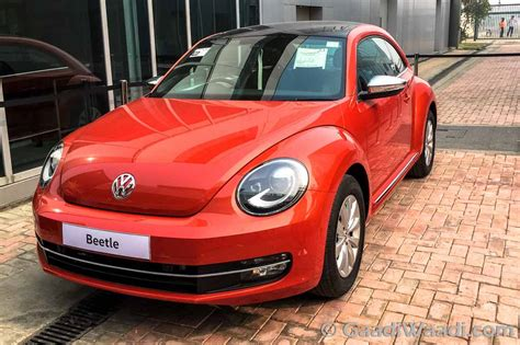 volkswagen beetle 2016 2016 vw beetle displayed at bic launching on 19th