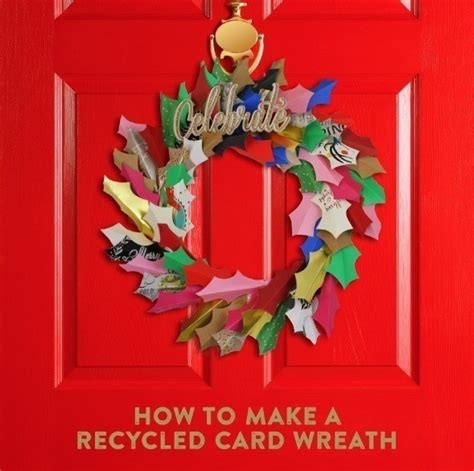 How To Make A Paper Wreath - diy card wreath 183 how to make a paper wreath