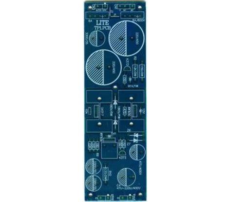 nippon lite capacitor tp1 variable voltage regulator 100 350v pcb bare pcb analog metric diy audio kit developer