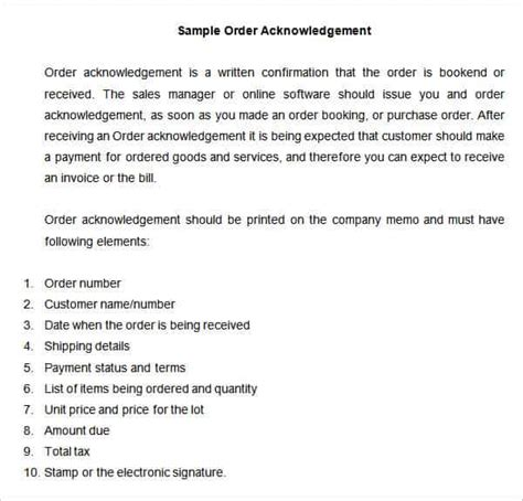 acknowledgement form template 32 acknowledgement letter templates free sles