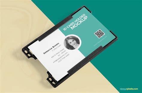 R280 Id Card Tray Template Psd by Free Id Card Holder Mockup Psd Free Psd Ui