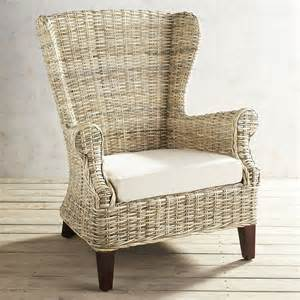 pier 1 wicker chair loxley wicker wingback chair pier 1 imports