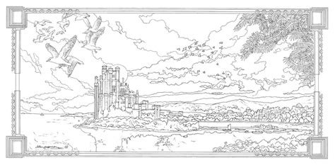 thrones coloring book completed of thrones coloring book 15 by alljeff on deviantart