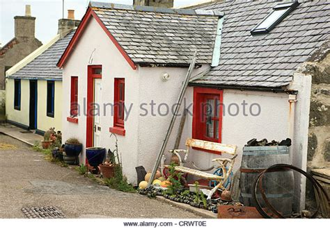 Lossiemouth Cottages by Lossiemouth Sea Town Stock Photos Lossiemouth Sea Town