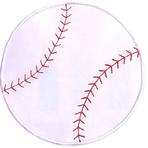 best photos of baseball applique template baseball heart