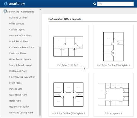 floor plan layout template