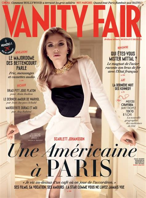 Vanity Fair American by Johansson Graces Debut Cover Of Vanity Fair
