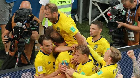 sweden vs south korea fifa world cup 2018 sweden bury opening match jinx to