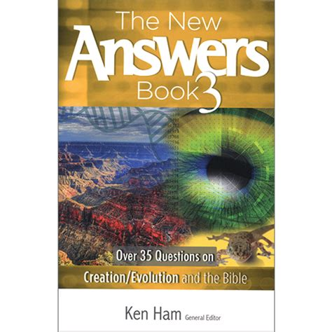 the new answers book the new answers book package creation today