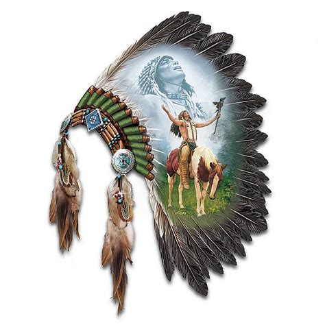 Native American Indian Home Decor Beautiful Headdress Native American Style Horse Wall Decor