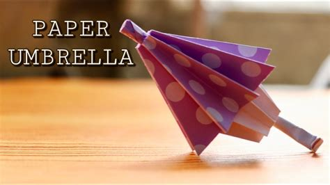 How To Make A Paper Umbrella For - how to make a paper umbrella that open and closes royal