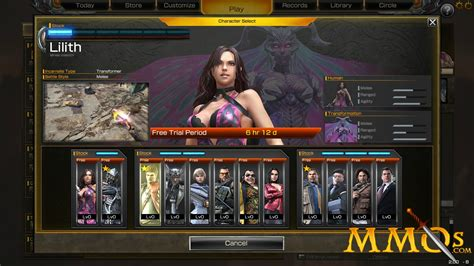 Rise of Incarnates Game Review Lilith's World Game