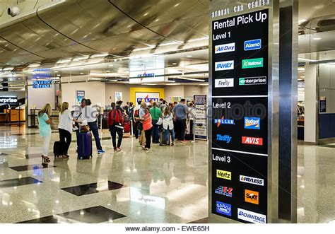 Car Hire Miami Port by Rental Car Airport Stock Photos Rental Car Airport Stock Images Alamy