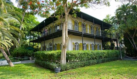 ernest hemingway house key west has 65 lives riding out hurricane in hemingway