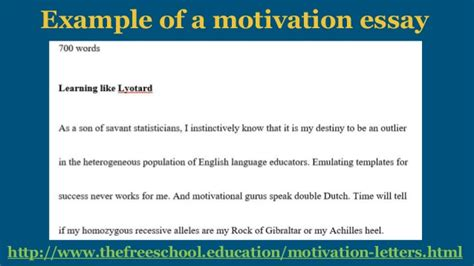 Letter Of Motivation For Mba Scholarship by Motivational Letter For Scholarship Compliant Captures How