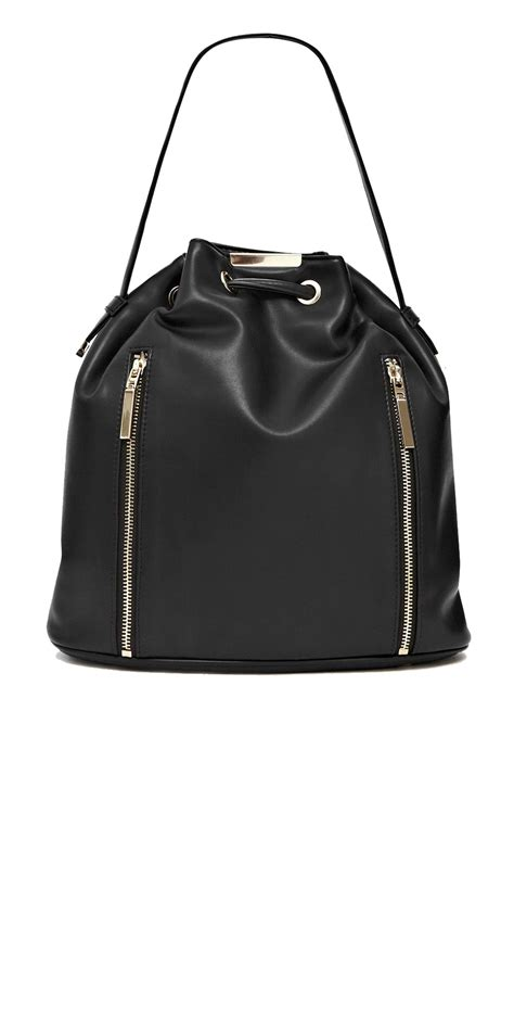 The Athena Bag by Connection Athena Duffle Bag In Black