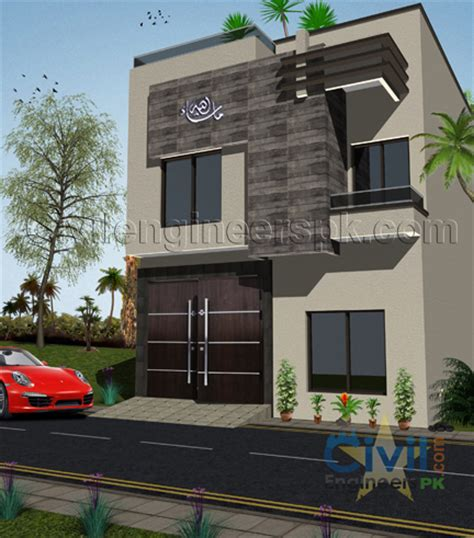 3 Marla House Design Story New 3 Marla House Design Civil Engineers Pk