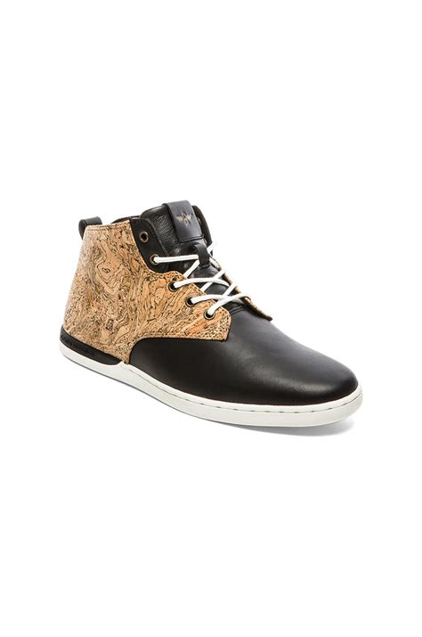 creative recreation boots creative recreation vito boots in black for cork