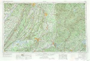 topographical map of tennesse historical topographic maps perry casta 241 eda map