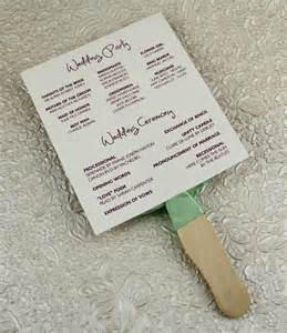 fan program wedding wedding program paddle fan template matelasse design print