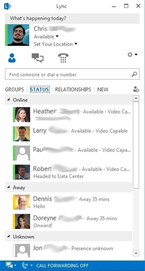 microsoft lync 2013 for android image gallery lync 2013 interface