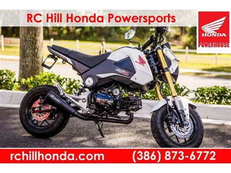 preowned grom for sale honda grom in florida for sale used motorcycles on