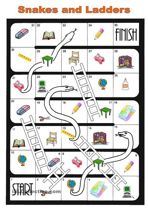 printable board games for middle school board game school things esl k pinterest school