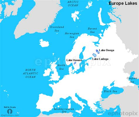 map with lakes europe lakes map lake map of europe