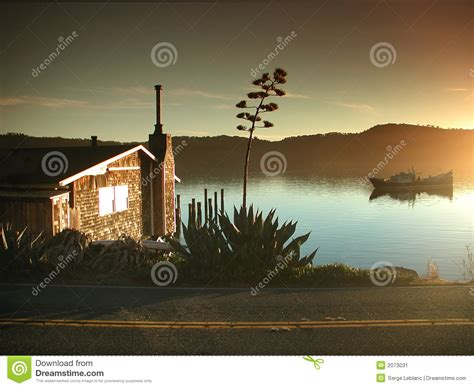 Tomales Bay Cottage by Tomales Bay Roadside Cottage Stock Image Image 2073031