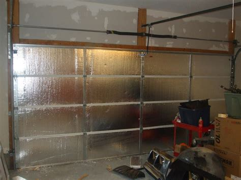 Insulating A Garage Door Garage Door Insulated The Of Angelo