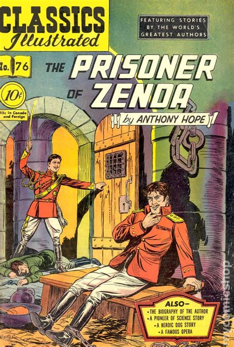 the prisoner a novel books classics illustrated 076 the prisoner of zenda 1950