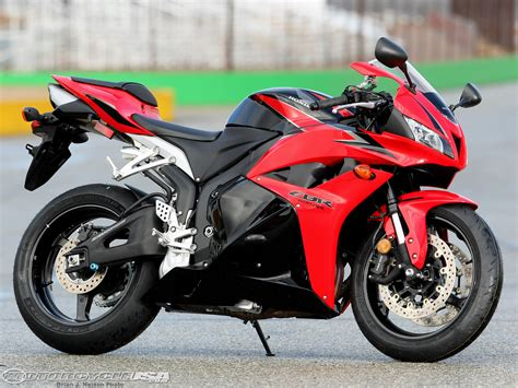 2009 Honda Cbr600rr Comparison Motorcycle Usa