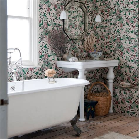 quirky home design ideas mix traditional style with quirky wallpaper queens