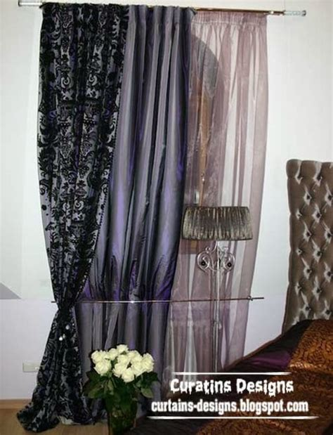 bedroom curtain fabric embossed curtain designs and draperies for bedroom luxury