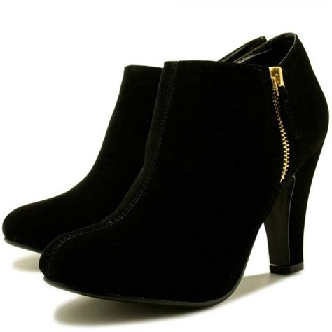 ankle boots black buy camille block heel zip ankle boots black