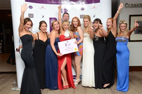 hairdresser awards glasgow karen wins at scottish hair and beauty awards daily record