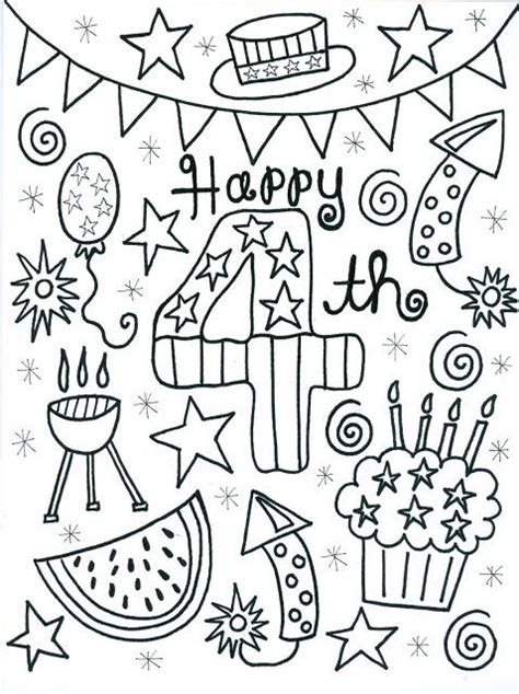 Coloring Page 4th Of July by 4th Of July Coloring Pages Best Coloring Pages For