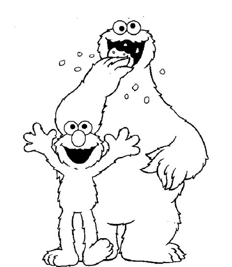 elmo valentine coloring page sesame street elmo coloring pages az coloring pages