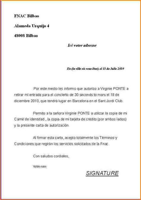 lettre d autorisation de garde 10 lettre d autorisation lettre de demission