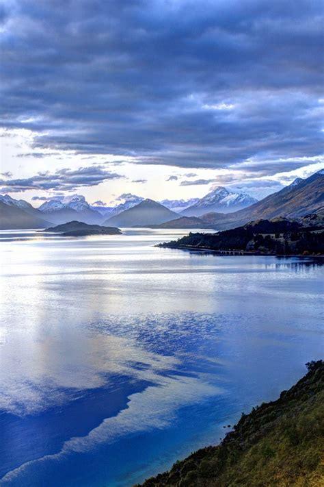 mountains landscapes  zealand lakes wallpaper