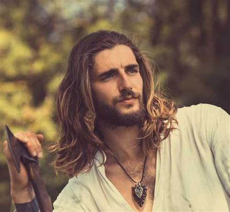 hairstyle ideas for guys with long hair mens long hairstyles mens hairstyles 2018