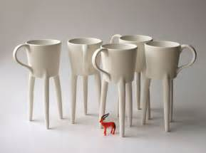 Unique Coffee Giraffe Cups 2x Unique Coffee Mugs Ceramic Design