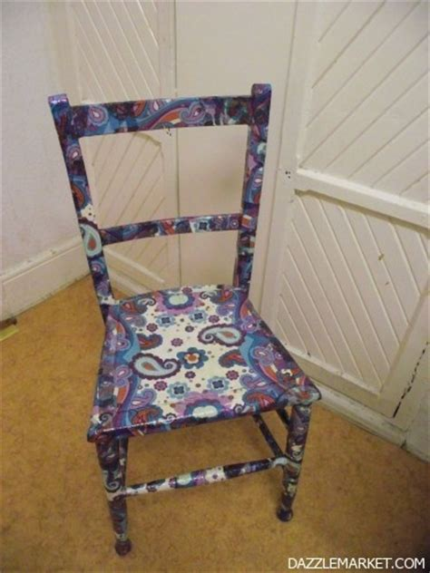 Decoupage A Chair - 25 best images about my new obsession napkin decoupage on